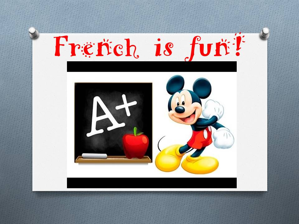 French is fun!